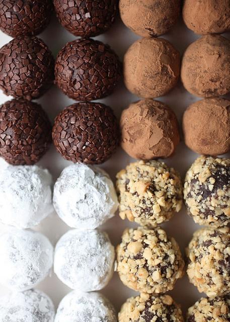 Chocolate Peanut Butter Truffles