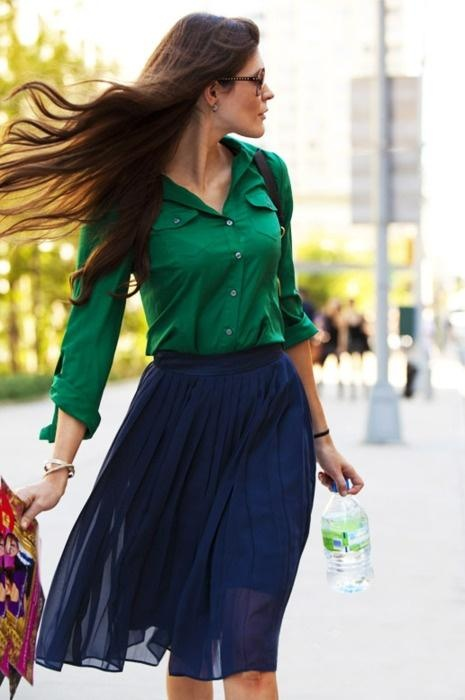 green-blue-outfit-long-brown-hair