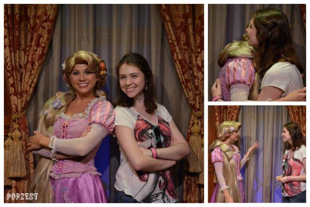 collage Rapunzel