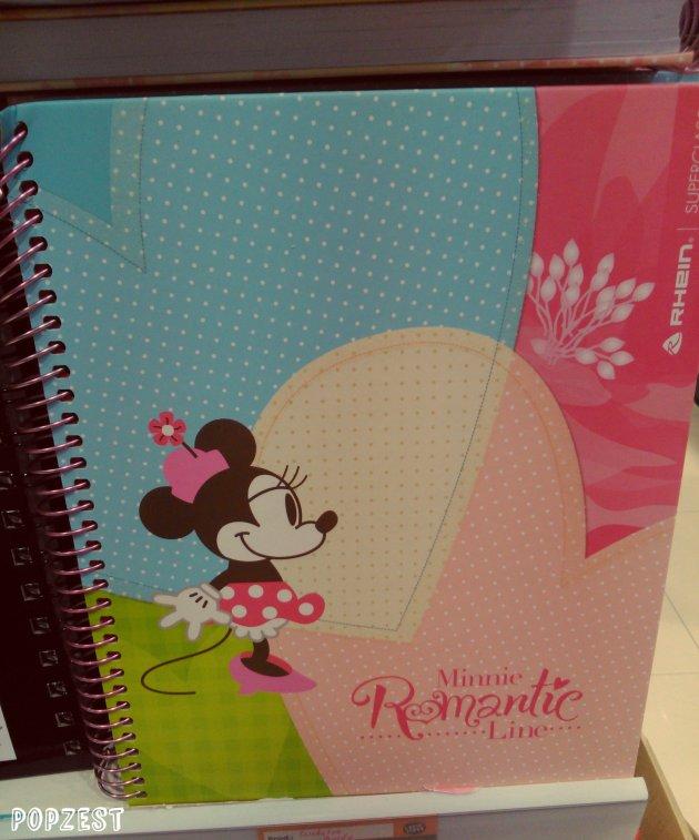 Popzest.com Cuaderno Minnie